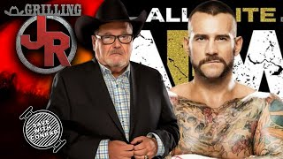 Jim Ross shoots on WHY CM Punk would be a great fit in AEW