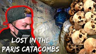 Lost in underground Paris catacombs (CATAPHILES TRY FIGHTING US)