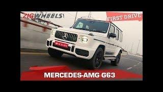 2018 Mercedes-AMG G63 Review   Demon Wears Prada   Zigwheels.com