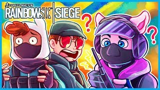 RAINBOW SIX SIEGE FUN w/ TheRussianBadger, TuxBird, SypherPK, & BasicallyIDoWrk! (Royale Does Siege)