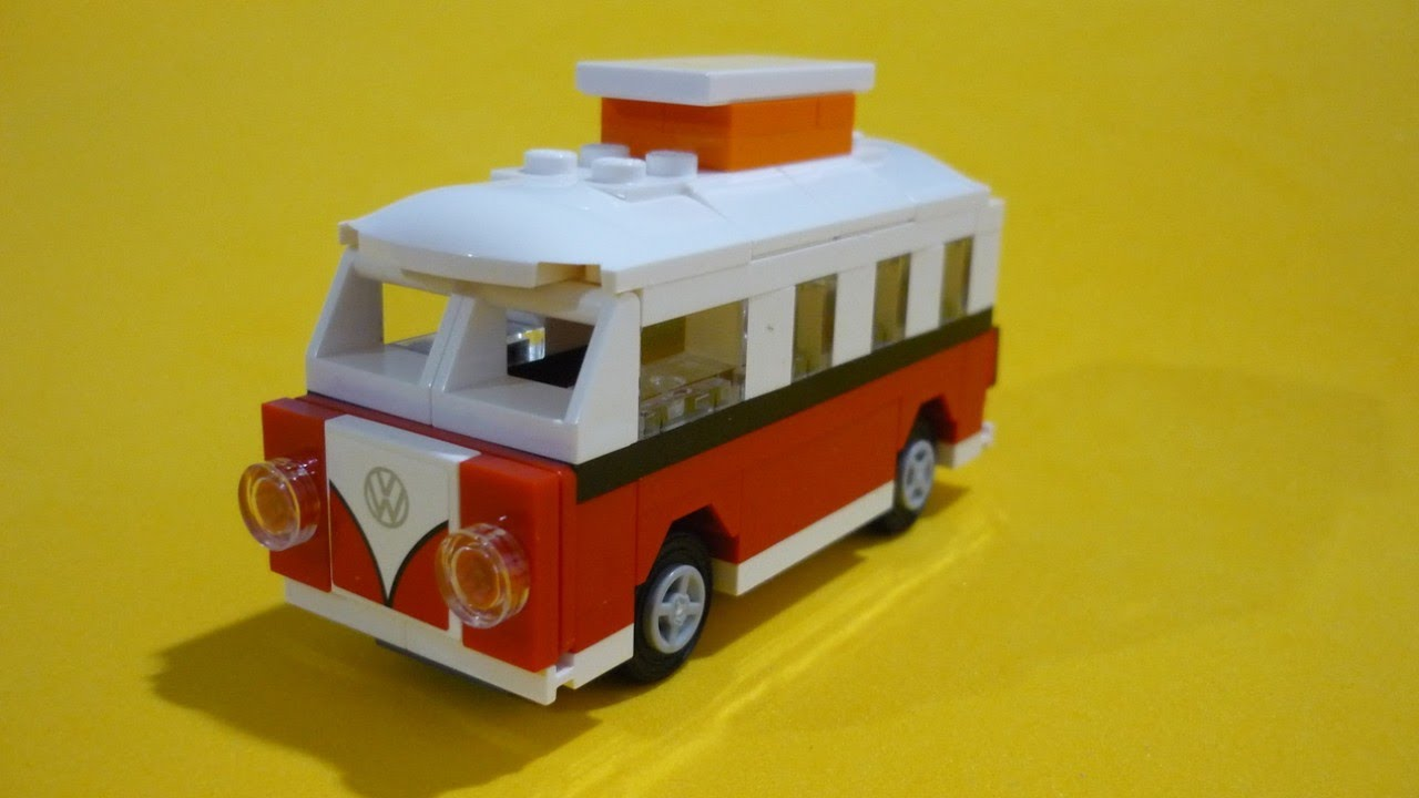 lego creator 40079 mini volkswagen camper van hippie combi hd youtube. Black Bedroom Furniture Sets. Home Design Ideas
