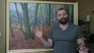 Юрий Клапоух | Уроки живописи для начинающих | Пишем дуб, часть 4