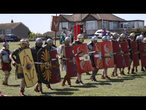 Rainbow Biz Radio Interview at Prestatyn The Romans Return