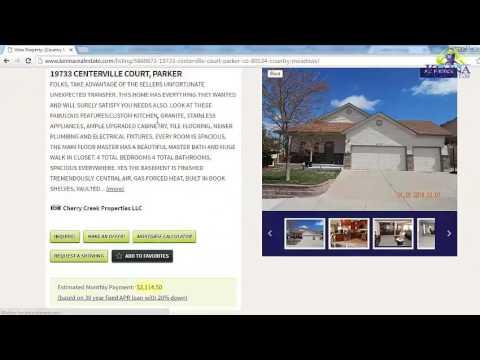 How to find Denver, Colorado Homes for Sale | ISO Denver Real Estate Online
