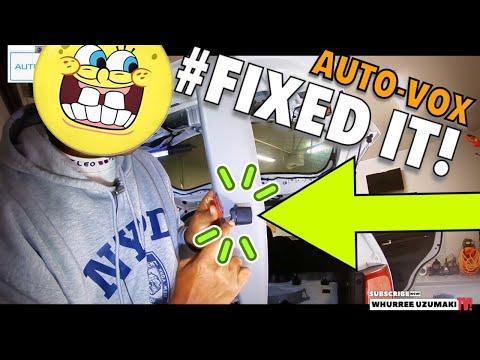Auto Vox Backup Camera Install – Kia Sorento Lift Gate Panel Removal