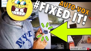 Auto Vox Backup Camera Install - Kia Sorento Lift Gate Panel Removal How To