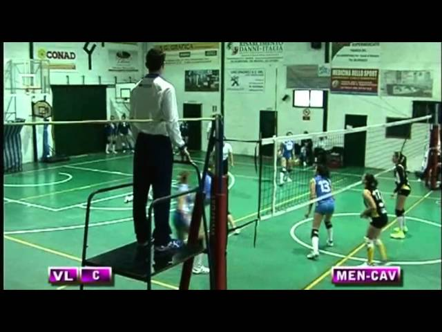 Spes Mentana vs Volley Cave - 4° Set