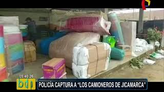"PNP captura a banda ""Los Camioneros de Jicamarca"""