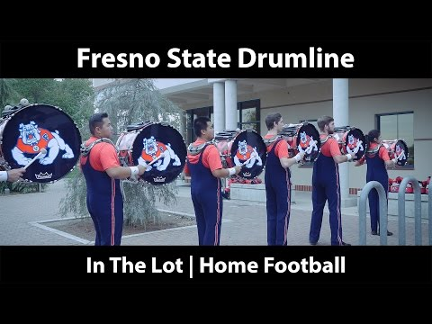 Fresno State Drumline 2016 in 4K | Fresno State vs. Hawaii | In the Lot