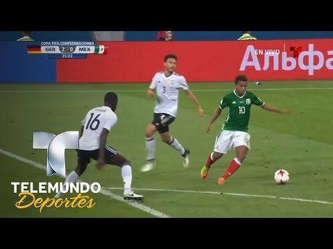 ¡Pero cómo se perdió ese gol Chicharito! | Copa FIFA Confederaciones Rusia 2017 | Telemundo Deportes