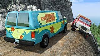 Cliff Drops #4 - BeamNG DRIVE | SmashChan