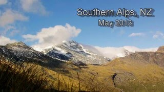 Southern Alps, New Zealand - Chasing Tahr 2013