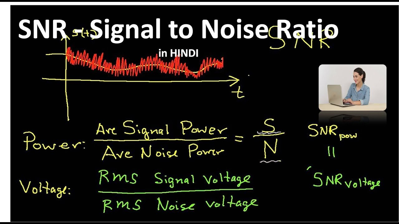what is snr signal to noise ratio in hindi youtube. Black Bedroom Furniture Sets. Home Design Ideas