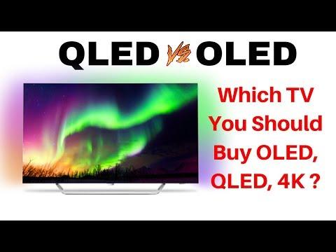 Should You Buy OLED, QLED, 4K TVs?