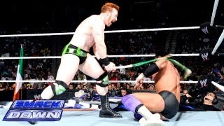 Sheamus vs. Damien Sandow - Dublin Street Fight: SmackDown, June 28, 2013