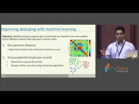 Jaafar Ben Abdallah | Scalable Patient Records De duplication using machine learning
