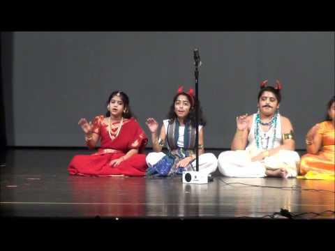 IAC Diwali 2011 - Carnatic Song by HSSI Gurukul Kids