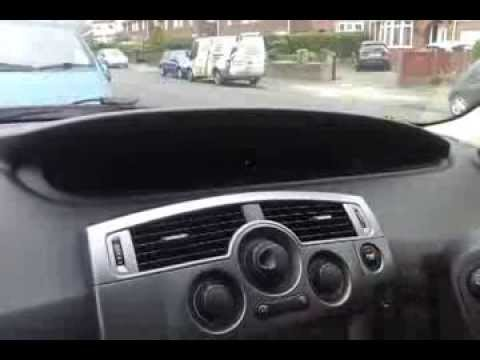 fixing renault grand scenic digital dashboard youtube. Black Bedroom Furniture Sets. Home Design Ideas