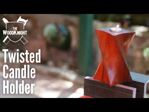Twisted Candle Holder