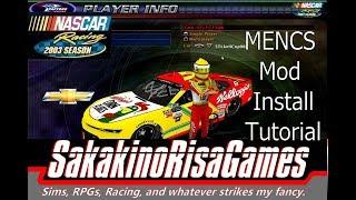 NASCAR Racing 2003 Season: MENCS 2018 Mod Install Tutorial