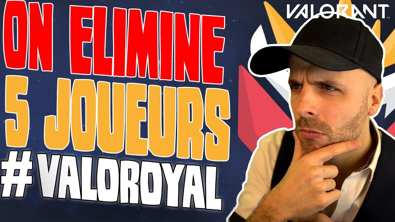 On élimine 5 joueurs pour former une EQUIPE PRO ! #ValoRoyal 🎓 VALORANT