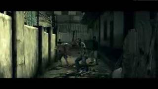 Resident Evil 5 - Gameplay at the Slums