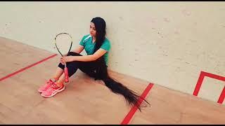Pakistan's longest hair girl Squash player Zahib Kamal, Sportswire Pakistan