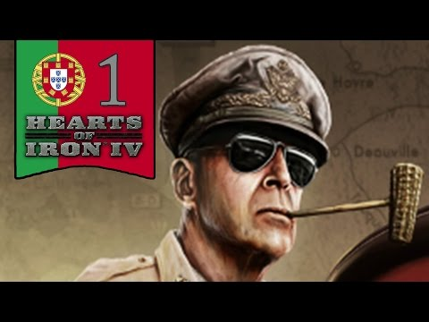 Communist Portugal - Hearts of Iron 4 Let's Play - Part 1