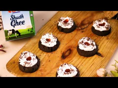 black forest thumbprint cookies