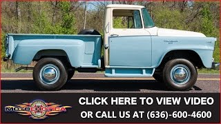 1957 International-Harvester A120 All Wheel Drive || SOLD