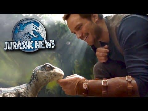 Baby Blue Revealed! New Jurassic World Game!    Jurassic World News Update
