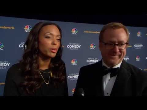 Aisha Tyler & Matt Thompson American Comedy Awards Red Carpet Interview