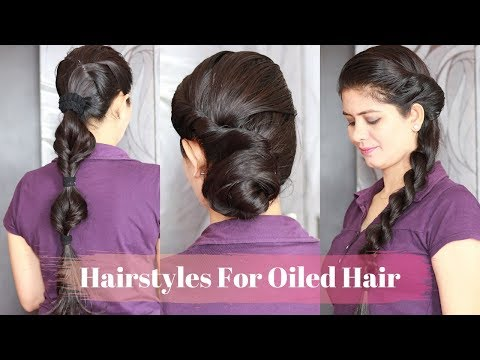 my-hair-oil-routine-+-3-hairstyles-for-oiled-hair-|-3-quick-hairstyles-after-applying-hair-oil