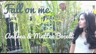 Gambar cover I hit whistle note on FALL ON ME - ANDREA BOCELLI, MATTEO BOCELLI (Niesya COVER)