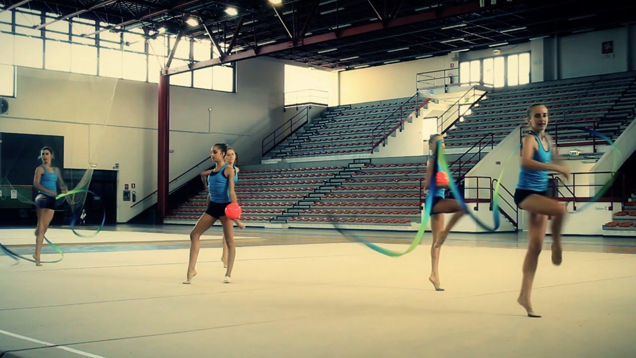 La ginnastica ritmica youtube