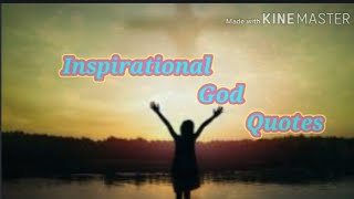 Inspirational God Quotes   Maḋam Melanie