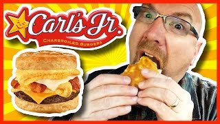 Carl's Jr. Monster Biscuit Breakfast Review