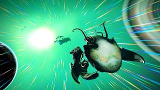 No Man's Sky Living Ships Update Gameplay - It's Time To Hatch Our Living Ship! Will We Get S Class?