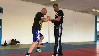 Long Gun Defenses, part 2. With Amnon Darsa at Expert Camp, day 4, Institute Krav Maga Netherlands.