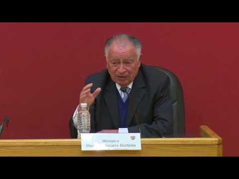 Cátedra José Luis de la Peza - Jueves 18 Enero 2018 - TEPJF