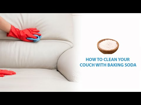 How to clean your couch with baking soda