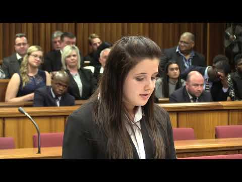 Nelson Mandela University Faculty of Law Moot Court Final 2017