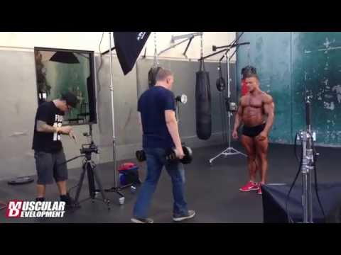 IFBB Pro Brad Rowe | Photo shoot for Muscular Development
