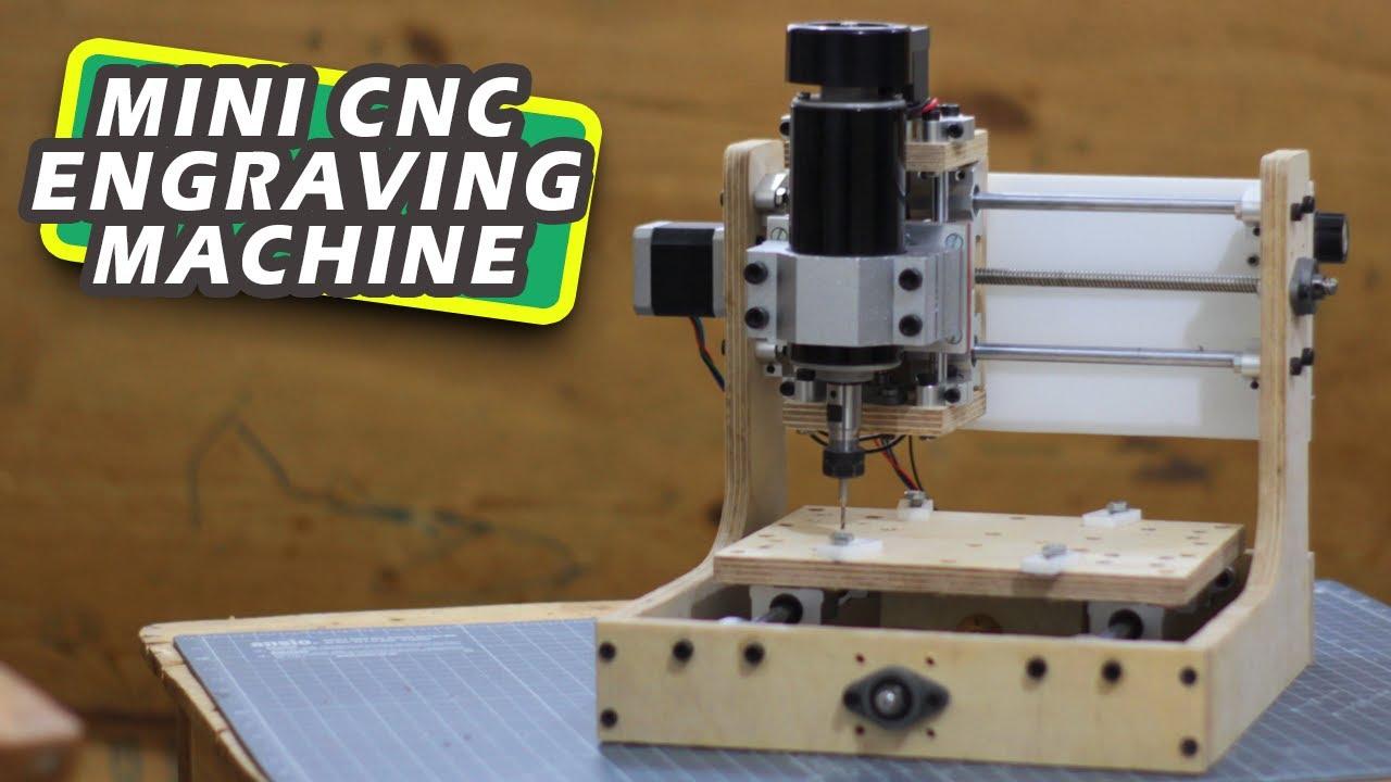 DIY Mini CNC Engraving Machine | Arduino based CNC Router machine