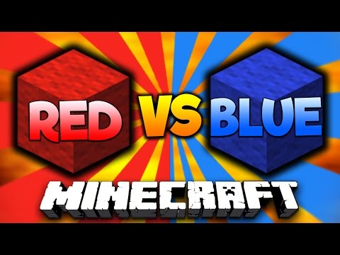 RED Vs BLUE! | Minecraft BLOCK WARS #1 With PrestonPlayz & Landon