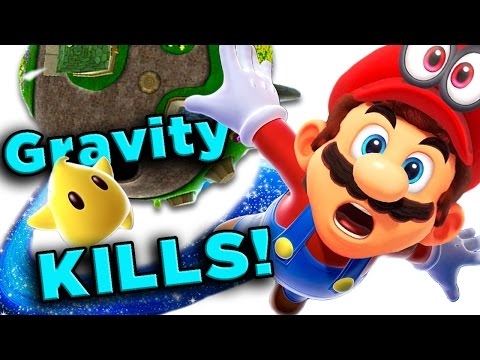 Thumbnail: Super Mario Galaxy's DEADLY Physics! | The SCIENCE! ...of Super Mario Galaxy