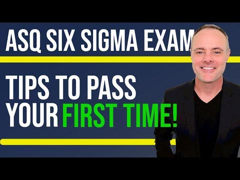 Six Sigma Black Belt Exam - How to Pass ASQ SSBB Exam