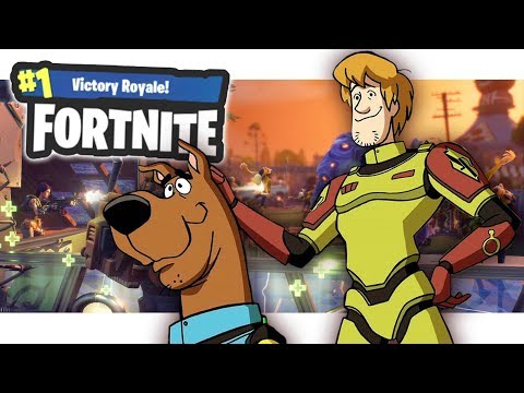 SHAGGY and SCOOBY-DOO in FORTNITE! - Voice Trolling