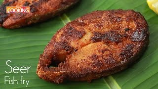 Seer Fish Fry l How To Make Seer Fish Fry Recipe l Meen Varuval