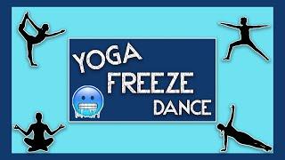 PE Games: Yoga Freeze Dance